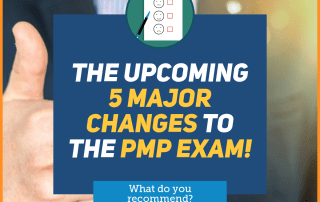 5 Major PMP Changes