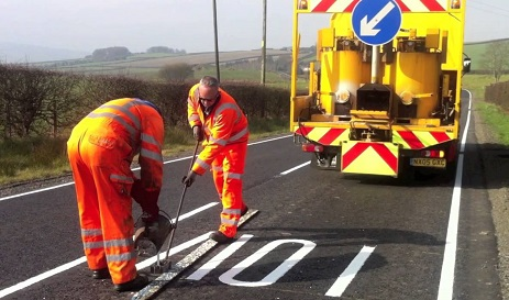 Road Marking paint requirements standard