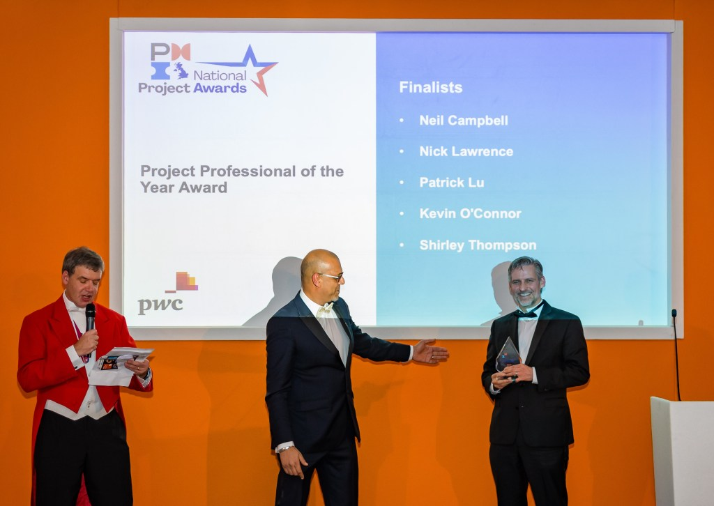 Photo of Neil Campbell - Project Professional of the Year Award