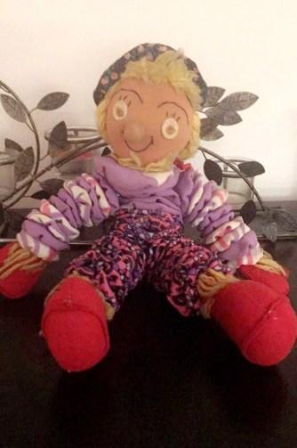 sweet clown doll