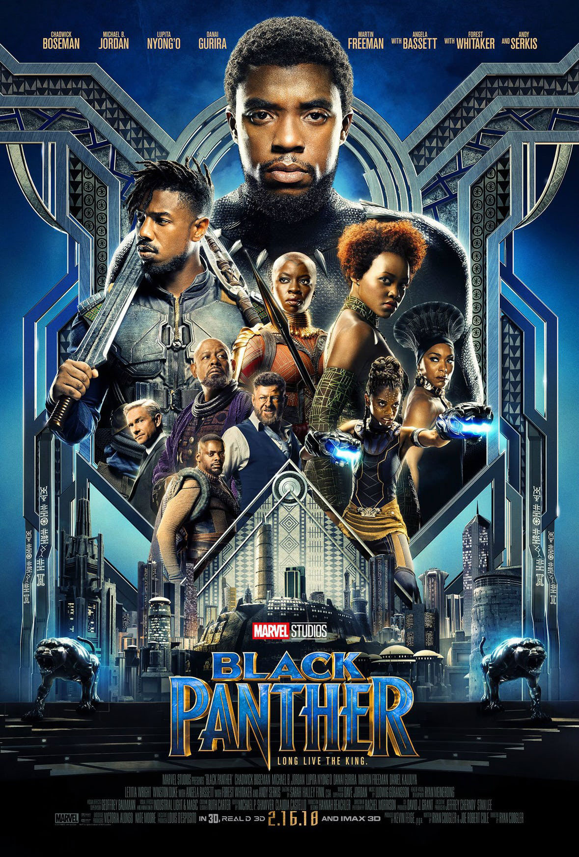 Black Panther film poster