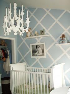 The 36 Chandelier  Project Nursery