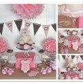 Strawberry chocolate and vanilla bear baby shower project nursery