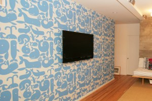 whimsical wallpapers rooms children childrens whales