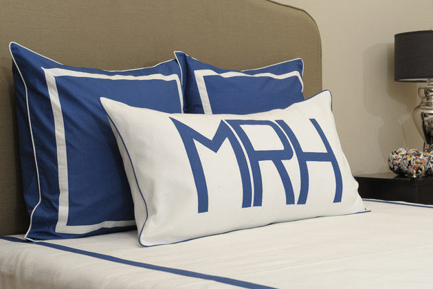 Personalizing Your Pillows With Monograms
