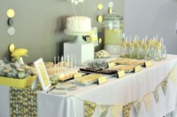 Baby Shower Food Ideas: Baby Shower Ideas Yellow And Gray