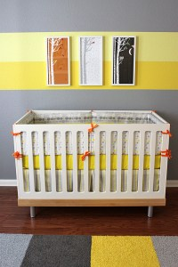 Eric's Gray and Yellow Modern Nursery - Project Nursery