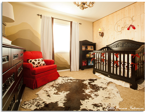 Design Reveal Boy39s Western Theme Cowboy Baby Nursery