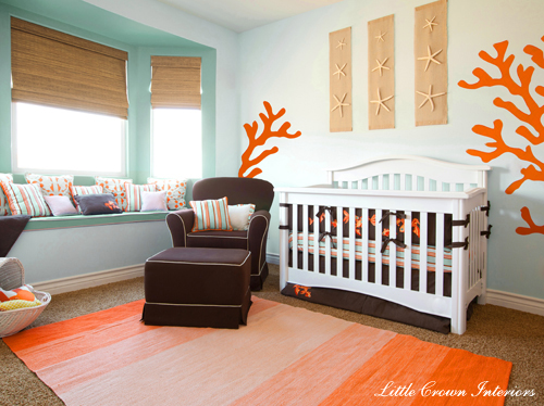 Nursery By Little Crown Interiors
