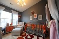 Orange & Grey Baby on Pinterest | Orange Nursery, Orange ...