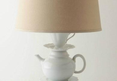 Stacked Elephant Lamp