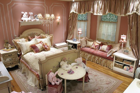 little girl princess bedroom ideas Princess-Inspired Girls Rooms
