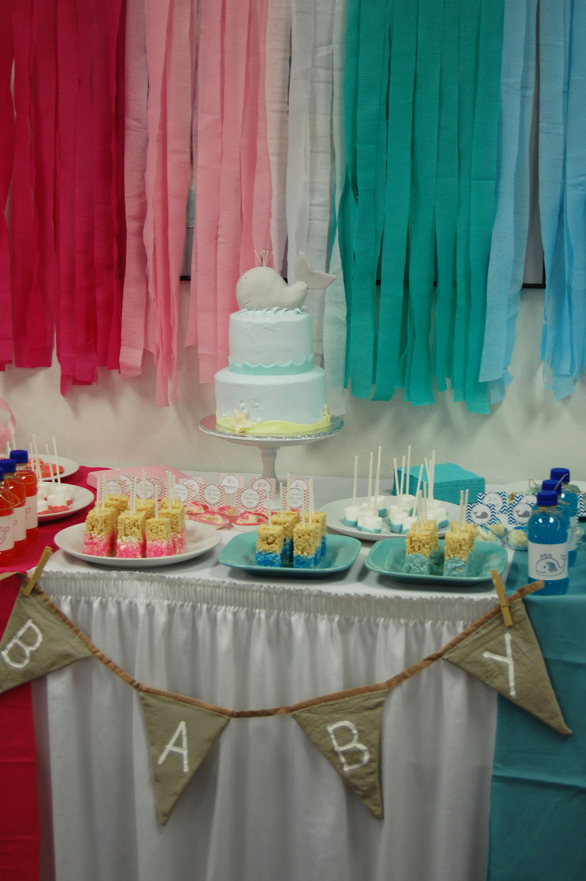 A Whaley Cute Gender Neutral Baby Shower  Project Nursery