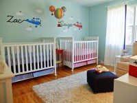 Up, Up, and Away: Saige and Zac's Twin Nursery - Project ...
