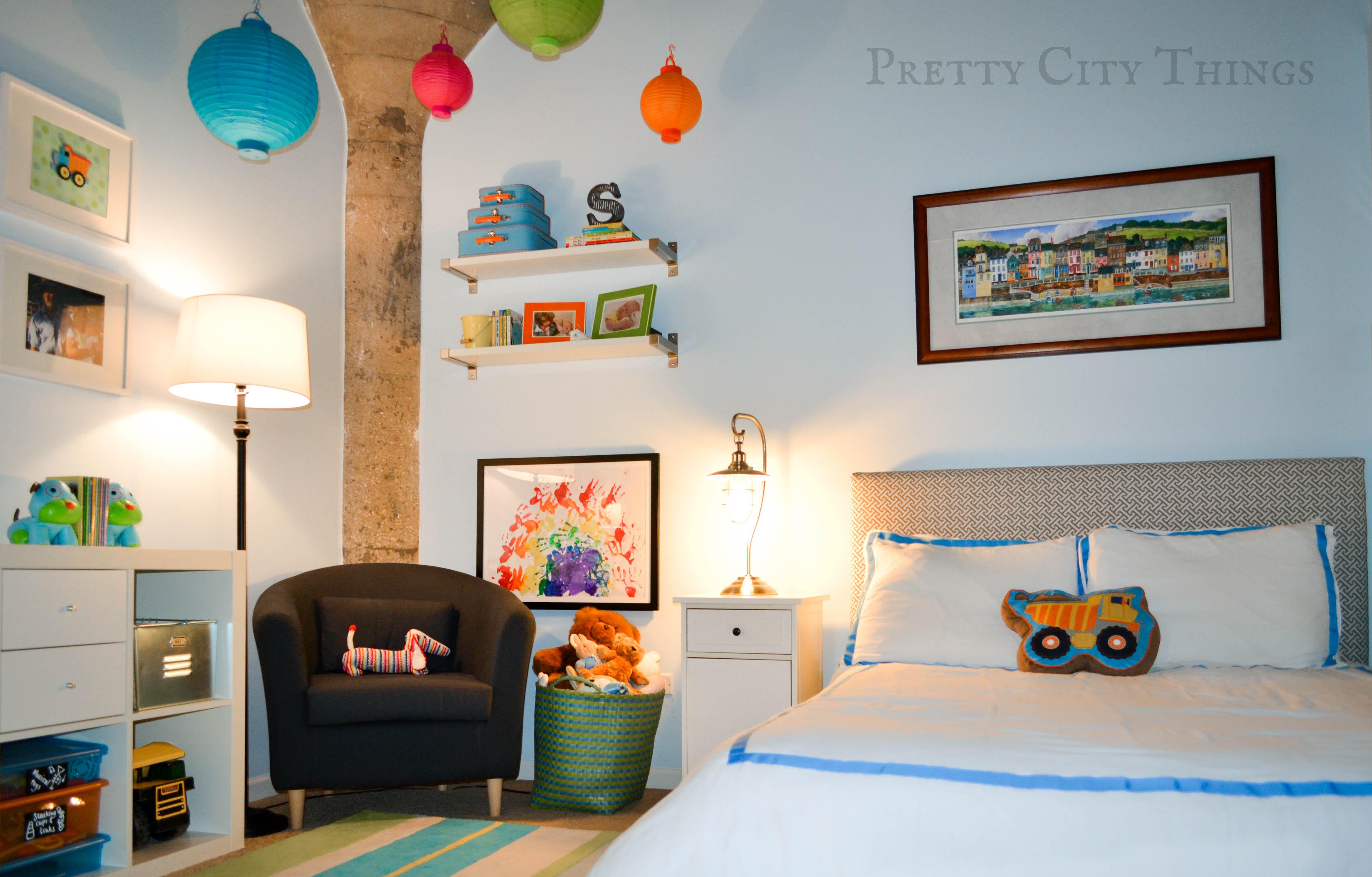 Sebastians Colorful Big Boy Room  Project Nursery