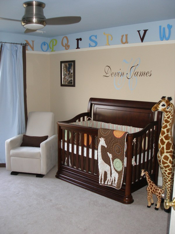 Devin' Giraffe Themed Nursery - Project