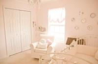 Vintage Pink and White Nursery