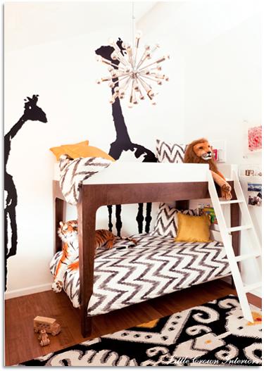 modern boy s shared room project nursery