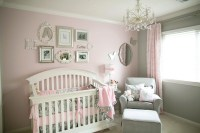Soft and Elegant Gray and Pink Nursery - Project Nursery