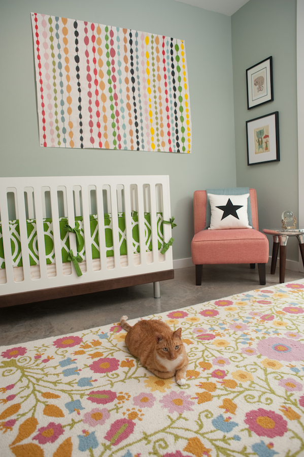 serena and lily hanging chair amazon fabric covers colorful nursery/guest room - project nursery