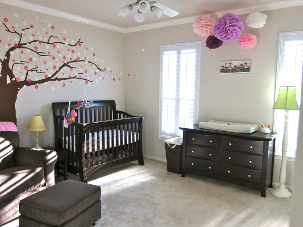 Simple Baby Girl Nursery Ideas