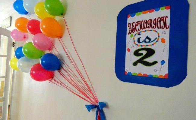 2nd Birthday Balloon Bash Project Nursery