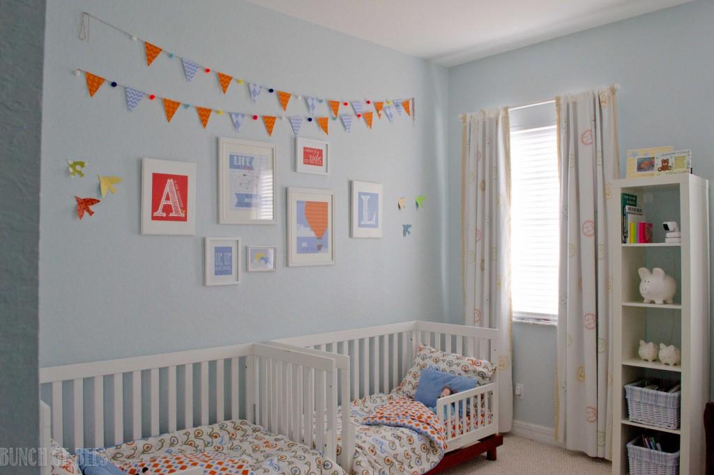 Readers' Favorite: Twin Boys Toddler Room