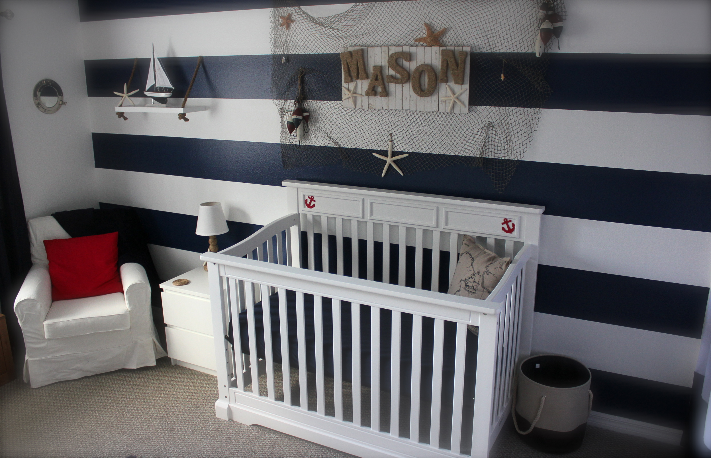 Set Sail with Mason  Project Nursery