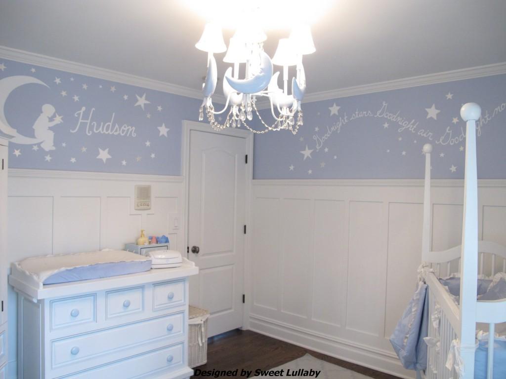 Hudsons Moon and Stars Nursery  Project Nursery
