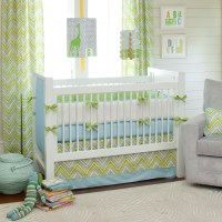 Giveaway: Carousel Designs Crib Bedding Set