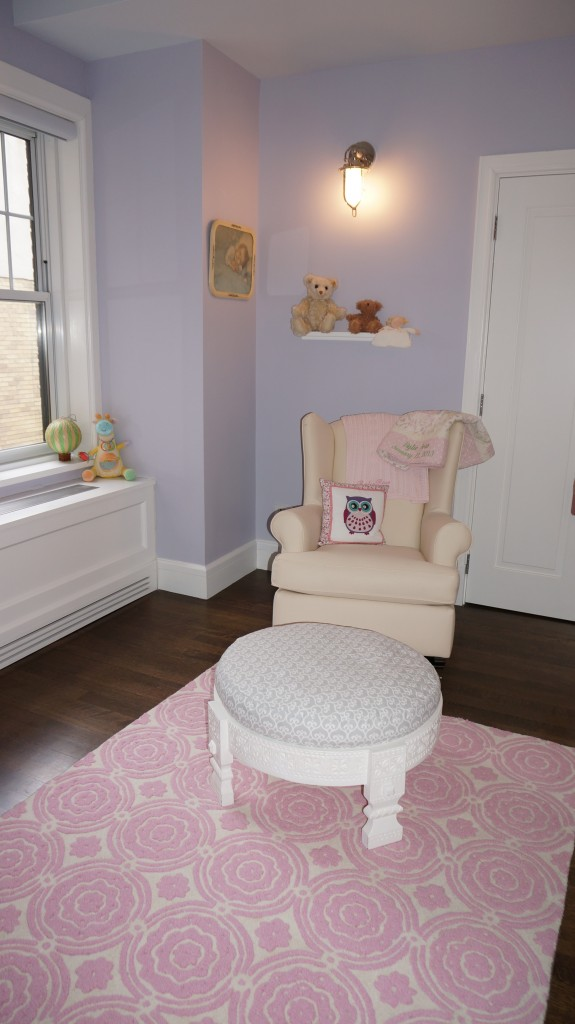 chair for baby shower folding covers sale canada rylie's eclectic- modern owl nursery - nyc project