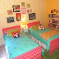 Readers favorite bright and fun shared girls room project nursery