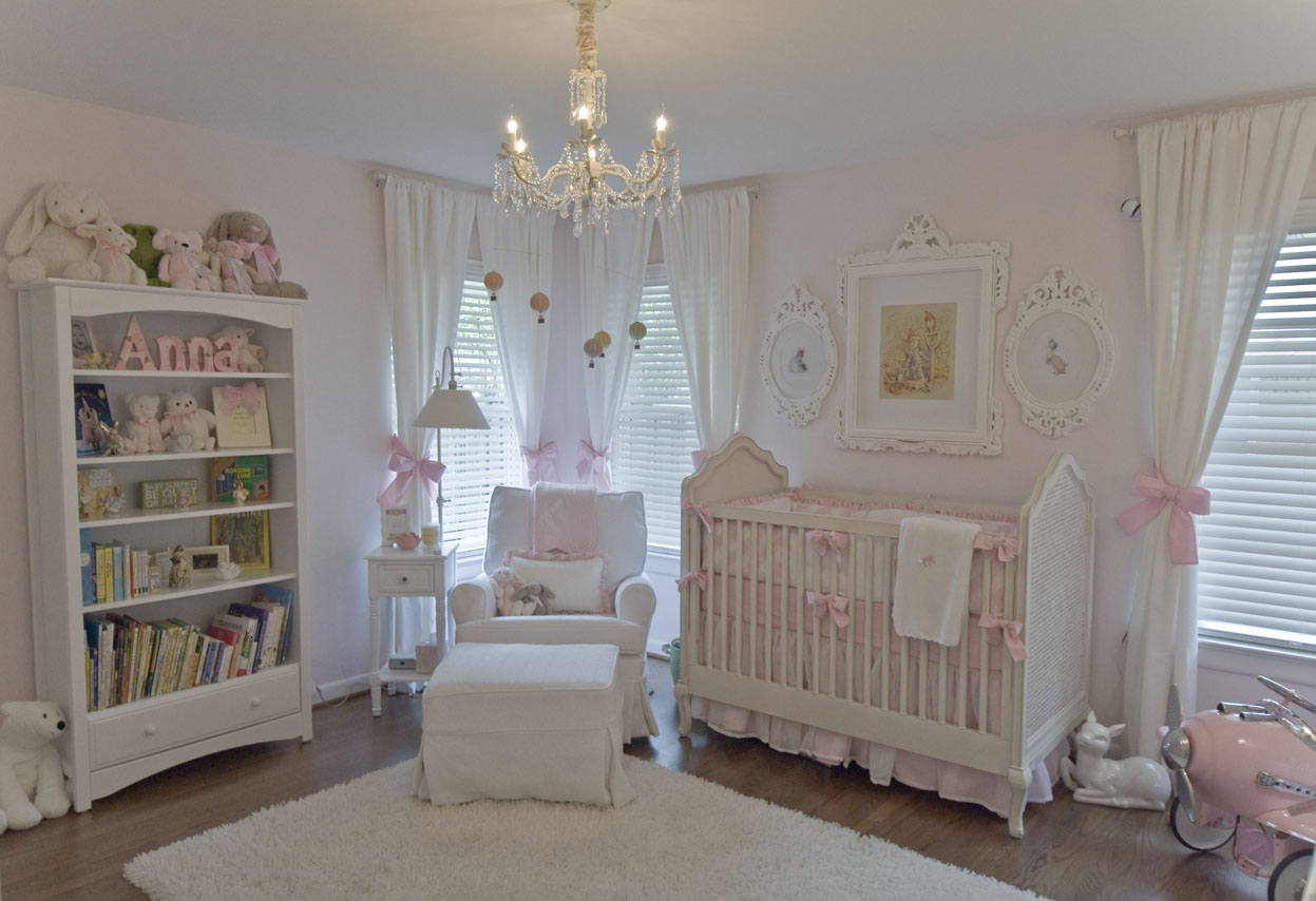 Vintage Inspired Classic Soft Pink Nursery