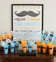 Baby Shower Food Ideas: Baby Shower Ideas Mustache