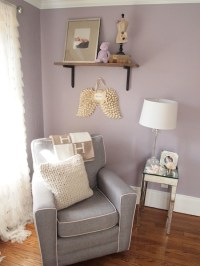 Mila's Purple/Gray Modern Glamour - Project Nursery