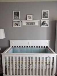 Crisp Clean Nursery for My Baby Cruz - Project Nursery
