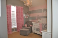 Peyton's Pink and Gray Nursery - Project Nursery