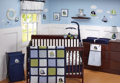 Nautica Crib Bedding