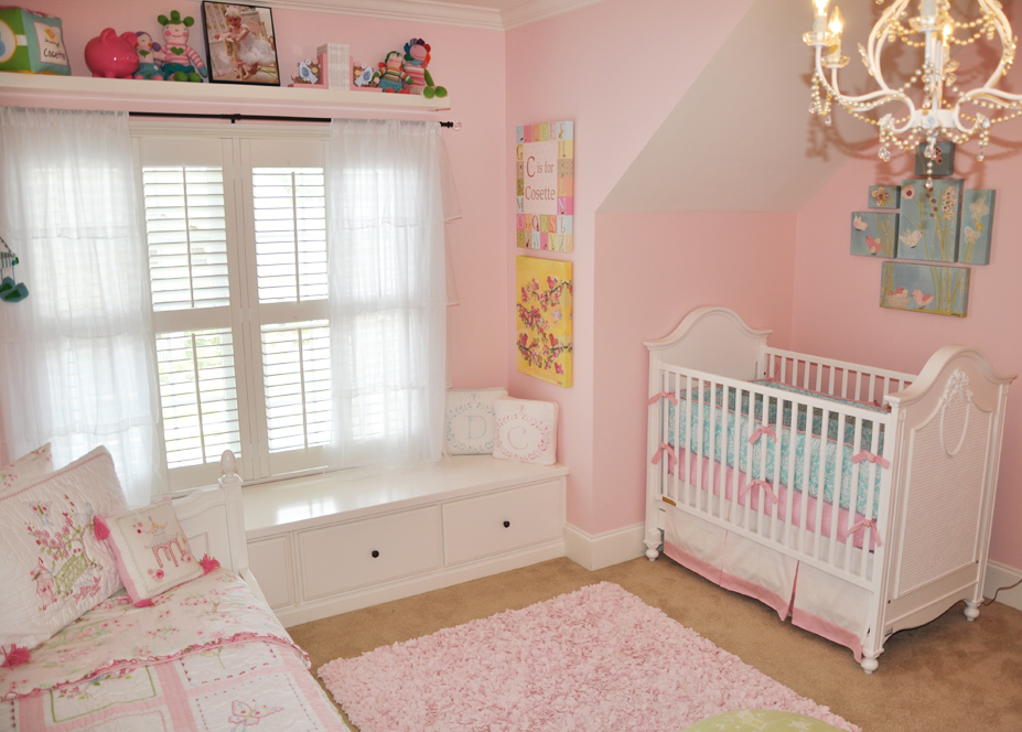 Cosette  Delilahs Shared Girls Room  Project Nursery