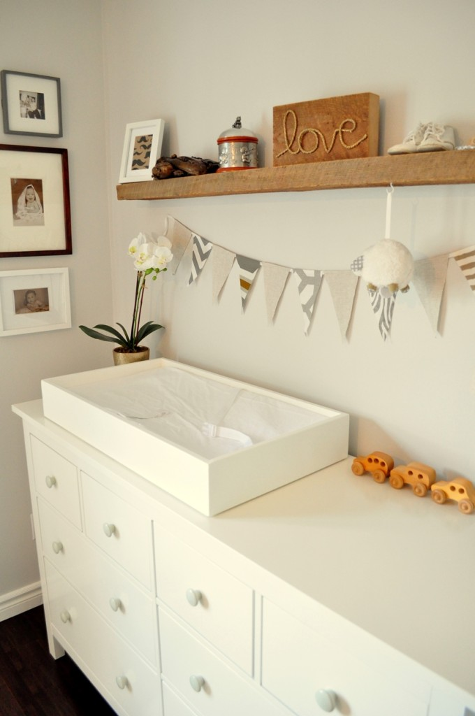 Rustic and Contemporary Nursery  Project Nursery