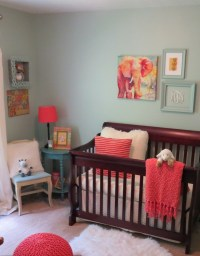 Molly's Blue and Coral Nursery - Project Nursery