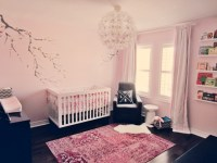 A Pink & White Nursery for Lila