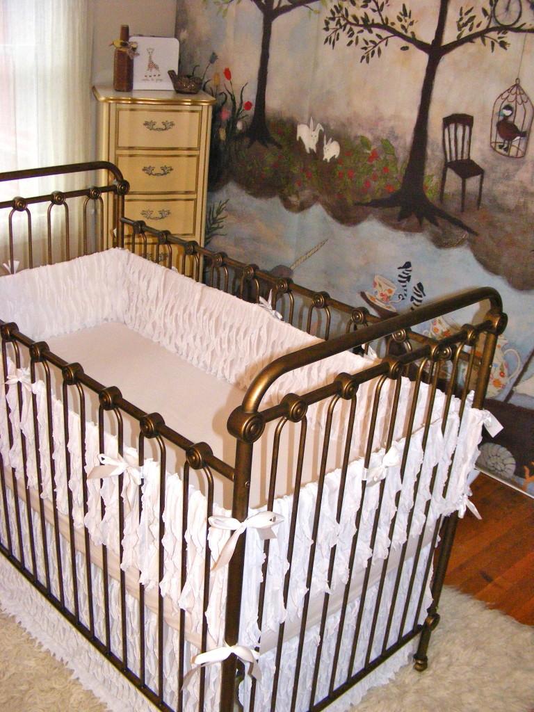 Modern Nursery Wallpaper Girl Adi S Enchanted Forest Nursery Project Nursery