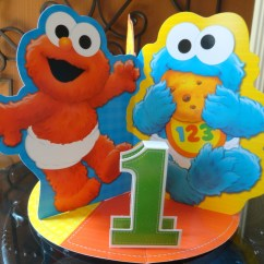 Cookie Monster Chair Seat Covers Dining Chairs First Birthday Party Project Nursery