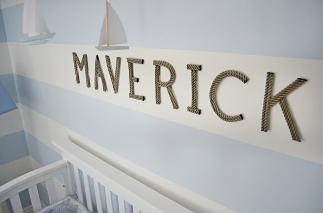 Baby Nursery Alphabetic Wooden Letters For