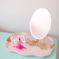 Tj Maxx Chair Make Covers Ideas Chloe's Mermaid Inspired Big Girl Room - Project Nursery