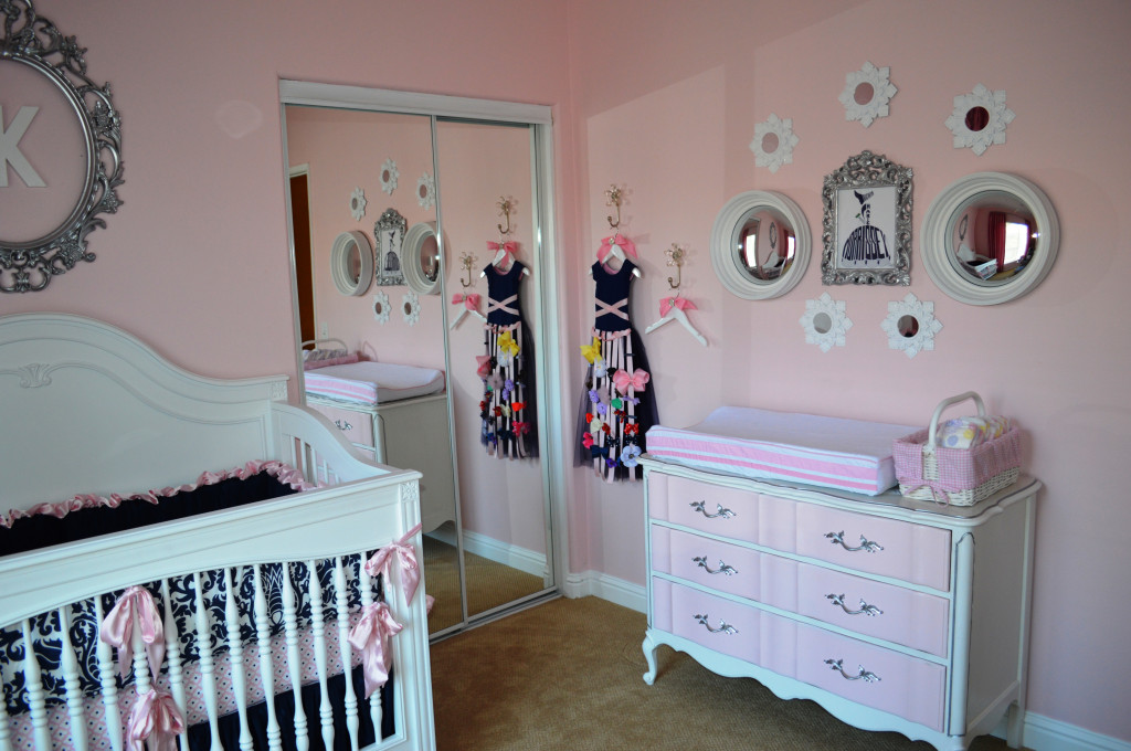 Navy and Pink Nursery by Jenny Morrissey Designs  Project