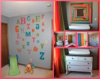 Bristyn's DIY Room with Grey Walls and Pops of Color ...