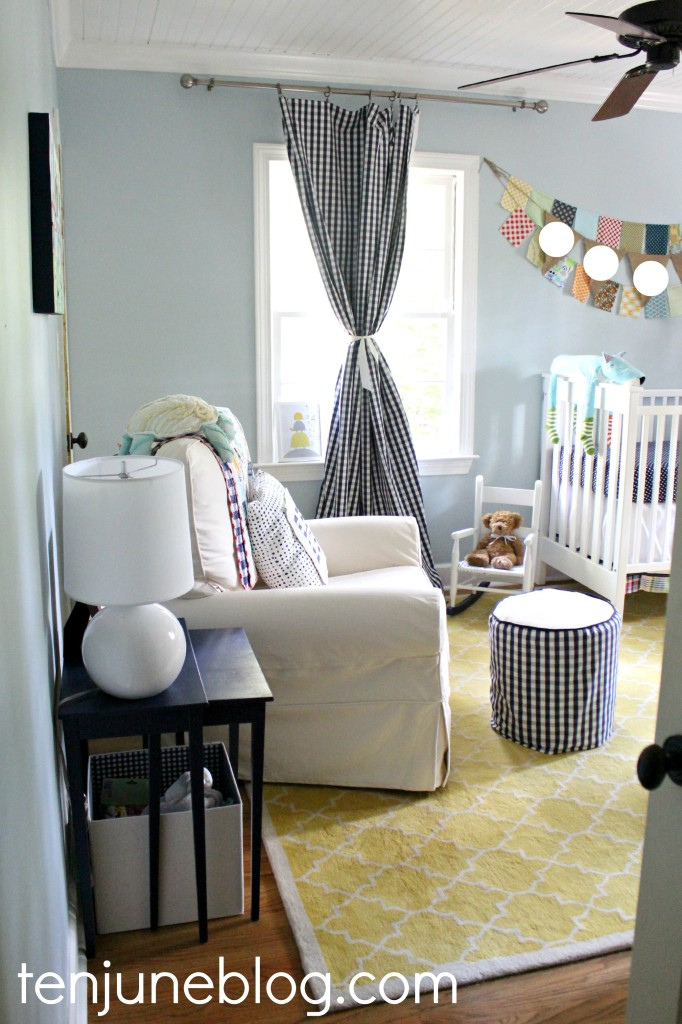 Crisp and Clean Little Boys Eclectic Blue and Yellow