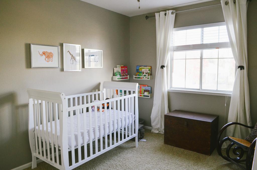 A Gender Neutral Modern Safari Nursery  Project Nursery